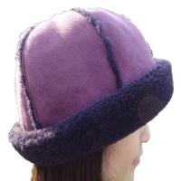 Buy cheap Fashion 6 Panel Cap Sheepskin Beanie Hat Lam Fur Plush Style For Winter from wholesalers