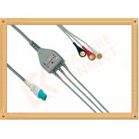 Buy cheap OEM Siemens Draeger ECG Patient Cable 10 Pin One Piece 3 Leads from wholesalers