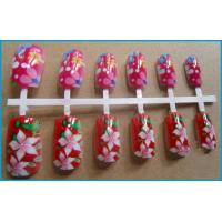 Quality 12pcs artificial nail one time printing/nail art printer made in china for sale