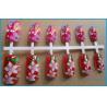 Buy cheap 12pcs artificial nail one time printing/nail art printer made in china from wholesalers