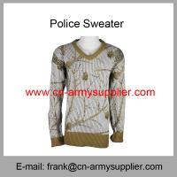 Buy cheap Wholesale Cheap China Military Wool Acrylic Polyester Army Camo Police Cardigan from wholesalers