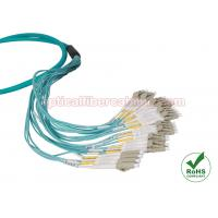 Buy cheap LC / SC / FC / ST / MTRJ OM3 Multi Strand Fiber Optic Cable MM 10 Gig Patch Cord from wholesalers