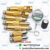 Buy cheap ERIKC Injector Shims Lift Measuring Instrument E1024007 Common Rail Injector Nozzle Washer Space Testing Tools Sets from wholesalers