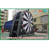 Buy cheap 5m 6m 7m DIA PVC Inflatable Dart Board Stands For Football Soccer Shooting from wholesalers