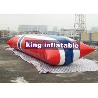 Buy cheap Durable Inflatable Water Toys / Blow Up Water Jumping Airbag Water Blob from wholesalers