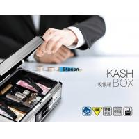 Buy cheap Silver Security Lockable Metal Portable Cash Box With Light Weight from wholesalers