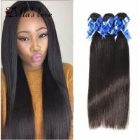 Buy cheap Peruvian Human Virgin Hair Extensions , Silky Straight Peruvian Straight Hair Bundles from wholesalers
