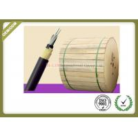 Buy cheap 24 / 48fibers Outdoor Fiber Optic Cable SM G652D Aerial Self Supporting For 100M 150M 200M Span Condition from wholesalers