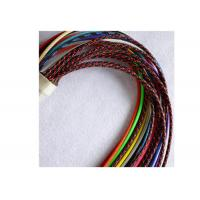 Buy cheap Polyester High Temp Braided Sleeving Good Flame Retardancy For Protecting Wire from wholesalers