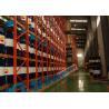 Satellite Shuttle Pallet Racking Shelves 8 - Wheel Type 1500 Kg Max. Capacity