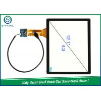 Buy cheap IIC / USB Interface 12.1'' Capacitive Touch Panel For Smart Advertising Machine from wholesalers