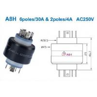 Buy cheap A6H Rotating connector Armature 6 poles Mercury Electrical slip rings from wholesalers
