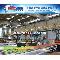 Buy cheap Plastic PVC+ASA/PMMA colonial roofing tile/panel/sheet/shingle extrusion equipment product
