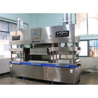 Buy cheap Semi - Automatic Disposable Paper Plates Making Machine 3500Pcs / H from wholesalers