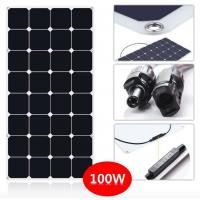 Buy cheap Smallest 130W Thin Flexible Solar Panels For Camping / Travel Tourism Car from wholesalers