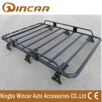 Buy cheap Removable Half Frame Luggage Rack For Suv , Roof Rack Carrier Gutter Mount product
