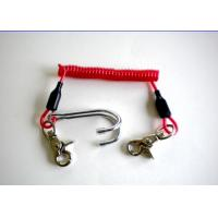 Buy cheap 3.0mm Diving Stainless Steel Reef Coiled Lanyard Double Hook Spiral from wholesalers