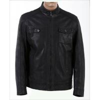 Buy cheap Size 50  XLLL Casual yellow Fitted Young Mens knitting viscose Leather Jackets product