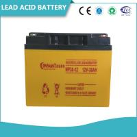 Buy cheap Valve Regulated Sealed Lead Acid Battery Rechargeable Solid Copper Terminal from wholesalers
