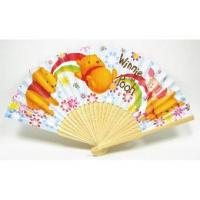Buy cheap Promotional Winne The Pooh Paper Folding Fans from wholesalers