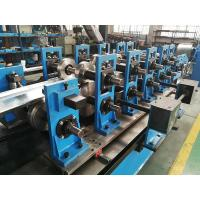 Buy cheap Wire-electrode Cutting Top Hat Roll Forming Machine Cr12 Cutter 4kw from wholesalers