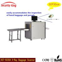 Buy cheap 0.22m / S Digital Airport Security Screening Equipment Sounds + Light Alarm x ray baggage scanner from wholesalers
