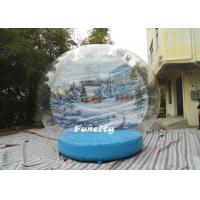 Buy cheap OEM PVC Tarpaulin PVC Dome Inflatable Snow Globe for Christmas Decoration from wholesalers