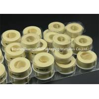 Buy cheap Heat Resistant Kevlar Fabric Garniture Tape Low Extensibility Smooth Surface product