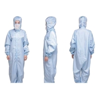 Buy cheap Anti Static 2.5mm Grid SMS Protective Working Coveralls product