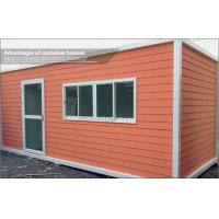 Buy cheap Europe Type Portable Container Modular House for Accommodation or Temporary Office from wholesalers