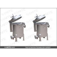 Buy cheap High precision Bag Filter Housing single bag stainless steel liquid filtration from wholesalers