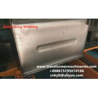 Buy cheap Single Embossing Welding Machine for transformer corrugated fin wall product