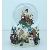 Buy cheap Home made unique crafts musical Water/Snow Globes christmas music boxes from wholesalers