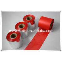 Buy cheap red wash resin thermal ribbon from wholesalers