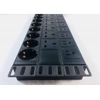 Buy cheap Patchboard Cabinet PDU Power Strip Good Elasticity For Lightning Protection from wholesalers
