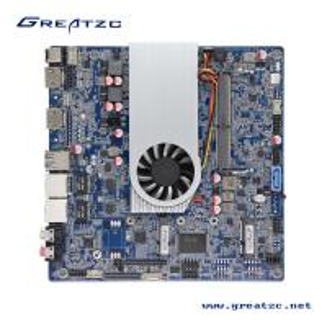 Buy cheap 3855U CPU 2 COM Ports Industrial Mini ITX Motherboard LVDS / HDMI Ports Support 4K ZC-T3855SL from Wholesalers