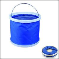 Buy cheap Promotion Folding Water Bucket outdoor washing fishing gift from wholesalers