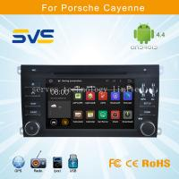 China Android car dvd player GPS navigation for Porsche Cayenne 2003-2010 car stereo with radio on sale