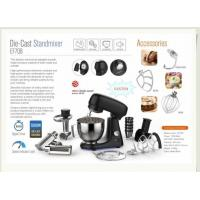 Buy cheap Noodle Stand Mixer Attachments/ Pure Copper Motor Stand Mixer Cheap/ Pizza Dough Stand Mixer from wholesalers