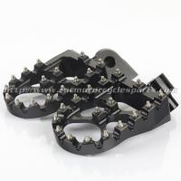 Buy cheap Multi - Color 57mm Width Dirt Bike Pegs 7075 T6 Aluminum , CNC Machined from wholesalers