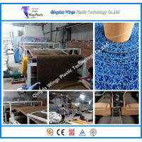 Buy cheap Plastics Extruder Plastic Mat Machine for Spinning Carpet / PVC Coil Mat from wholesalers