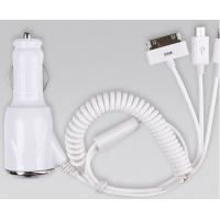 Buy cheap iphone charger with 3 exlusive ports /car phone charger/cell phone charger/ipad charger product
