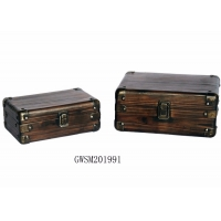 Buy cheap Rectangle 28*20*12 Treasure Chest Storage Trunk from wholesalers