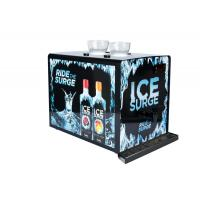 Buy cheap Black Metalic Shot Chiller Dispenser With Customized Decorative Sticker from wholesalers