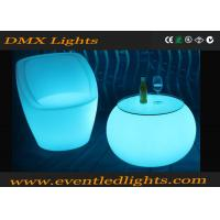 Buy cheap Night Club Furniture Led Bar Table , Glow Pub Lighted Cocktail Tables from wholesalers
