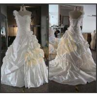 Buy cheap 2012 New One-Shoulder Ivory Satin Wedding Dress (CON010) from wholesalers