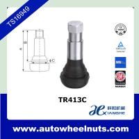 Buy cheap TR413C Auto Accessory Tire Valve Stem For Car / Automobile Cold Resistant from wholesalers