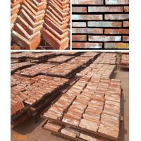 Buy cheap Decorative Brick, Old Red Brick Slices, Brick Veneer, Corner Brick. from wholesalers