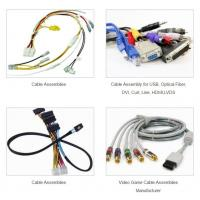 Buy cheap USB Optical Fiber DVI Custom Wiring Harness And Cable Assembly from wholesalers