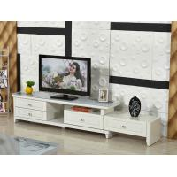 Buy cheap Factory wholesale TV24 pastoral paint retractable glass TV cabinet TV cabinet modern cabinet from wholesalers